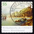 Postage stamp Germany 2006 Upper Middle Rhine Valley — Stock Photo