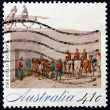 Postage stamp Australia 1990 Gold , The Gold Rush — Stock Photo #24579363