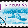 Postage stamp Romania 1962 Water Slalom, Water sport — Stock Photo