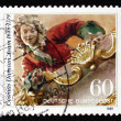 Postage stamp Germany 1989 Cosmas Damian Asam, Painter — Stock Photo