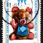 Postage stamp GDR 1979 Teddy Bear, Toy — Stock Photo #24701559