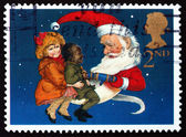 Postage stamp GB 1997 Christmas Crackers — Stock Photo