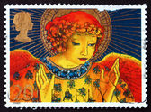 Postage stamp GB 1998 Christmas Angel — Stock Photo