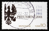 Postage stamp Germany 2001 Coat of Arms of Kingdom of Prussia — Stock Photo