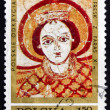 Постер, плакат: Postage stamp Poland 1971 Archangel Michael Fresco