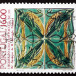 Postage stamp Portugal 1984 Grasshoppers, by Rafael Bordallo Pin — Stock Photo #24861651