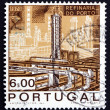 Royalty-Free Stock Photo: Postage stamp Portugal 1970 Catalytic Cracking Tower