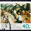 Postage stamp Portugal 1984 St. John, Painting — Stock Photo