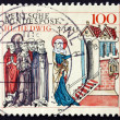 Postage stamp Germany 1993 St. Hedwig of Silesia — Stock Photo
