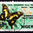 Postage stamp Nigeria 1982 Hesperus Swallowtail, Butterfly — Stock Photo