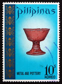 Postage stamp Philippines 1972 Metal Age Chalice — Stock Photo