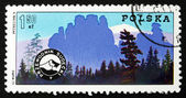 Postage stamp Poland 1975 Mountain Guides' Badge — Foto Stock