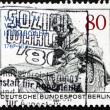 Postage stamp Germany 1985 Wilhelm von Humboldt, Statesman, Phil — Stock Photo