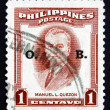 Postage stamp Philippines 1953 Manuel L. Quezon — Stock Photo #25185561