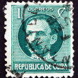 Postage stamp Cuba 1917 Jose Marti, Revolutionary — Stock Photo