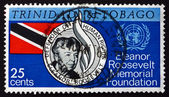 Postage stamp Trinidad and Tobago 1965 Eleanor Roosevelt — Stock Photo