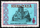Postage stamp Panama 1964 Protestant Church of Colon — Stock Photo