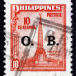 Postage stamp Philippines 1948 Bonifacio Monument — Stock Photo #25259557
