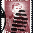 Stock Photo: Postage stamp Philippines 1962 Jose Rizal, National Hero