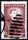Postage stamp Philippines 1962 Jose Rizal, National Hero — Stock Photo