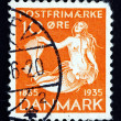 Postage stamp Denmark 1993 Little Mermaid — Stock Photo #25271335