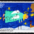 Постер, плакат: Postage stamp GB 1981 Angel Christmas