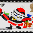 Postage stamp GB 1981 Santa Claus, Christmas — Stock Photo
