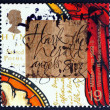 Stock Photo: Postage stamp GB 1999 John Wesley Founder of Methodism