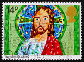 Postage stamp GB 1981 Jesus, Christmas — Stock Photo