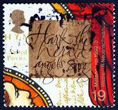 Postage stamp GB 1999 John Wesley Founder of Methodism — Stock Photo