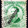 Stock Photo: Postage stamp Spain 1931 Joaquin Costa, Politician
