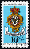 Postage stamp Germany 1975 Sign of Royal Prussian Post — Stock Photo