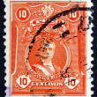 Postage stamp Peru 1924 Augusto Bernardino Leguia, Politician - Stock Photo