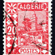 Stock Photo: Postage stamp Algeri1926 Mosque of Sidi Abd-er-Rahman
