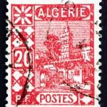Постер, плакат: Postage stamp Algeria 1926 Mosque of Sidi Abd er Rahman