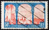 シディ yacoub の切手アルジェリア 1926年マラブ — ストック写真