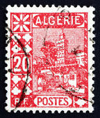 Postage stamp Algeria 1926 Mosque of Sidi Abd-er-Rahman — Stock Photo