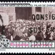 Postage stamp Spain 1996 Scene from First Spanish Motion Picture — Stock Photo #25692597