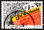 Postage stamp Belgium 1994 Daily Newspapers — Stock Photo