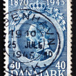 Постер, плакат: Postage stamp Denmark 1921 Christian X King of Denmark