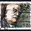 Stock Photo: Postage stamp Germany 1989 Reinhold Maier, Politician