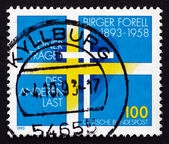 Postage stamp Germany 1993 Birger Forell, Swedish Priest — Stock Photo