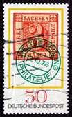 Postage stamp Germany 1978 Saxony No. 1 Stamp — Stock Photo