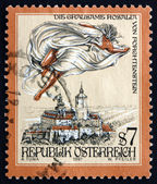 Postage stamp Austria 1997 The Cruel Lady of Forchtenstein Castl — Stock Photo