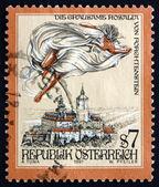 Postage stamp Austria 1997 The Cruel Lady of Forchtenstein Castl — Stock Photo