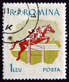 Postage stamp Romania 1959 Horse Race, Sport — Stock Photo