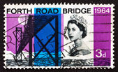 Postage stamp GB 1964 Forth Road Bridge — Stock Photo