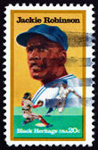 Postage stamp USA 1982 Jackie Robinson, Baseball Player — Stock Photo