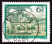Postage stamp Austria 1984 Rein Abbey, Styria — Stock Photo
