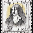 Postage stamp Vatican 1973 St. Teresa of Lisieux, Carmelite Nun — Stock Photo